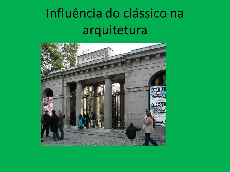 Influência do clássico na arquitetura