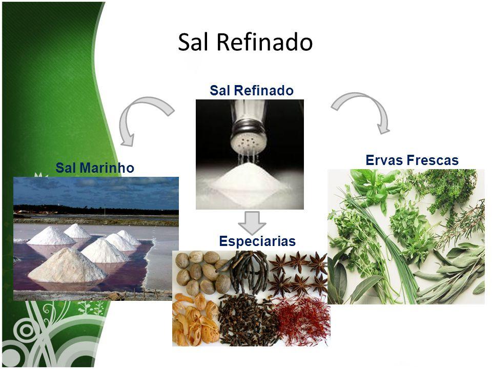 Sal Refinado Sal Marinho Especiarias Ervas Frescas