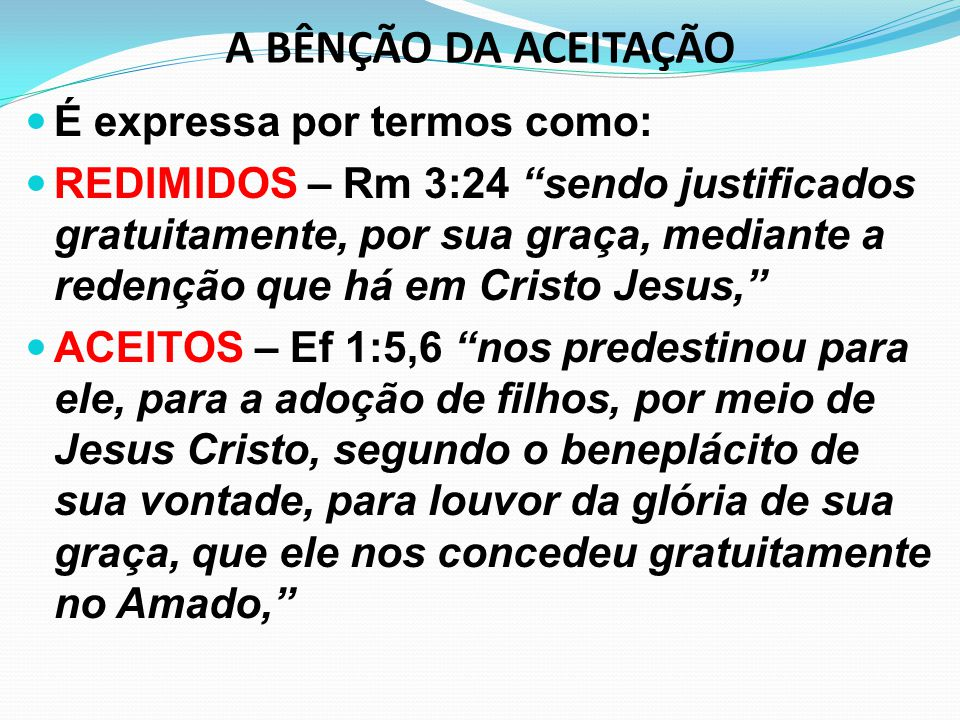 EFEITOS DA MORTE DE CRISTO JULGAMENTO DA NATUREZA PECAMINOSA – A morte de Cristo tornou inoperante o poder dominador da natureza pecaminosa.