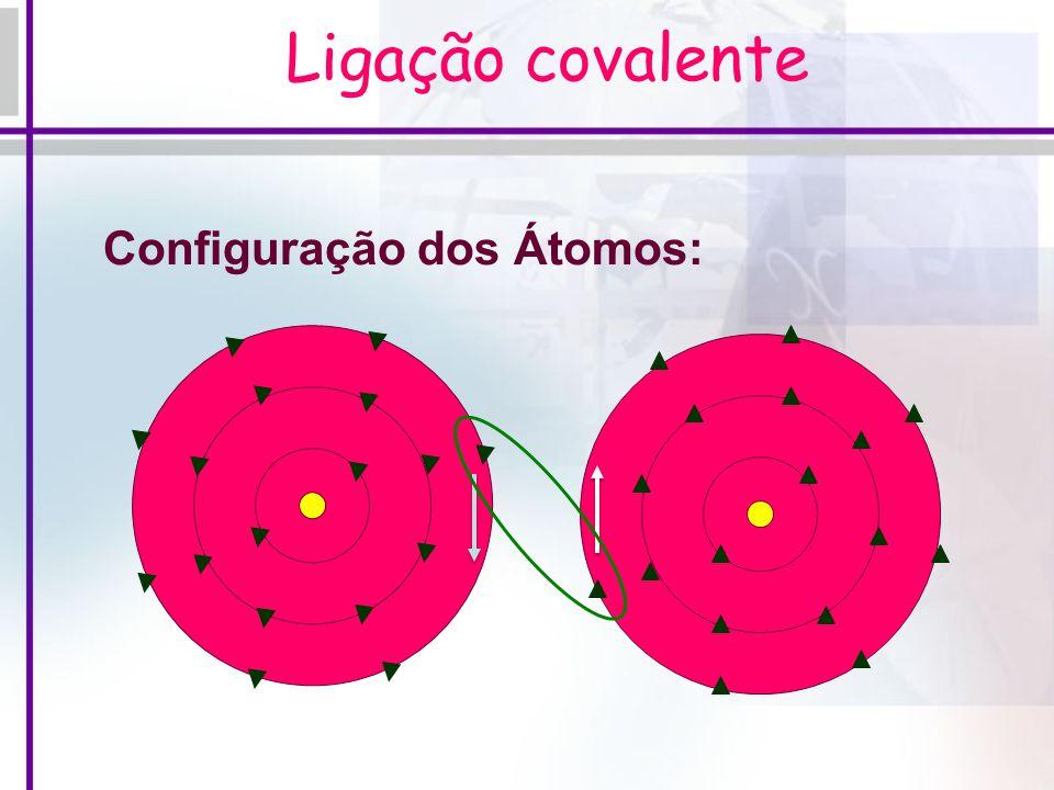  Definição: A ligação covalente comum baseia-se no compartilhamento de um ou mais pares de elétrons, onde cada átomo envolvido na ligação contribui c