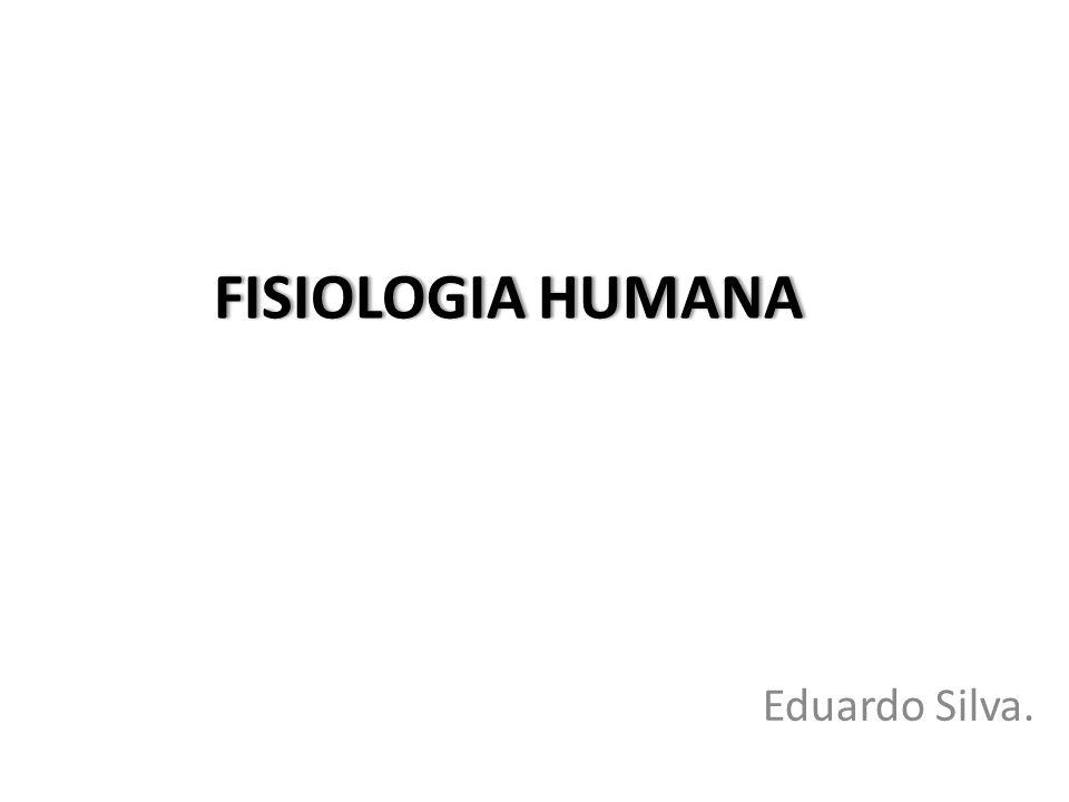 FISIOLOGIA HUMANAFISIOLOGIA HUMANA Eduardo Silva.
