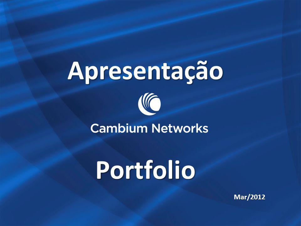 Apresentação Portfolio Mar/2012