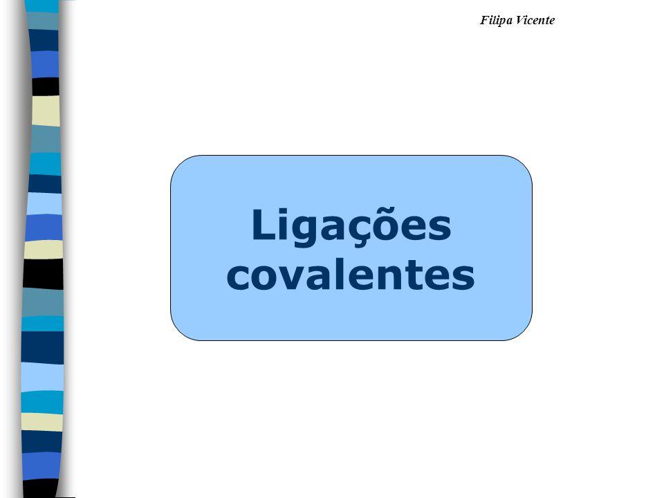 Filipa Vicente Ligações covalentes