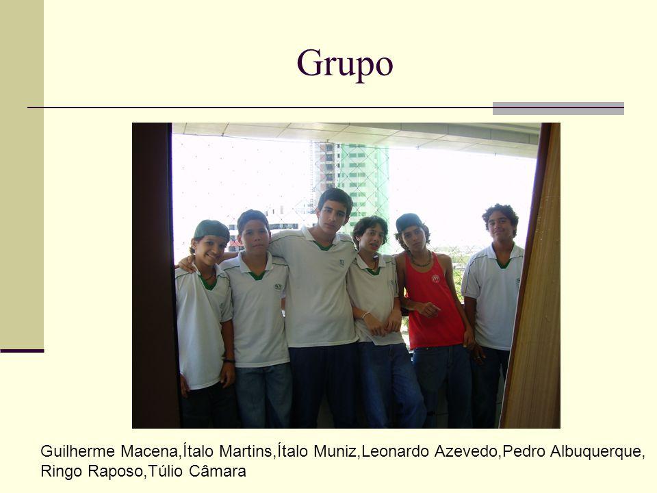Grupo Guilherme Macena,Ítalo Martins,Ítalo Muniz,Leonardo Azevedo,Pedro Albuquerque, Ringo Raposo,Túlio Câmara