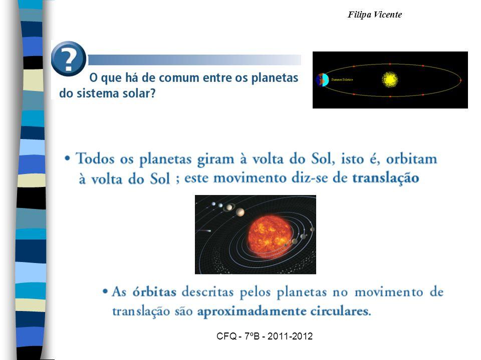Filipa Vicente CFQ - 7ºB - 2011-2012 URANO n É um planeta gasoso.