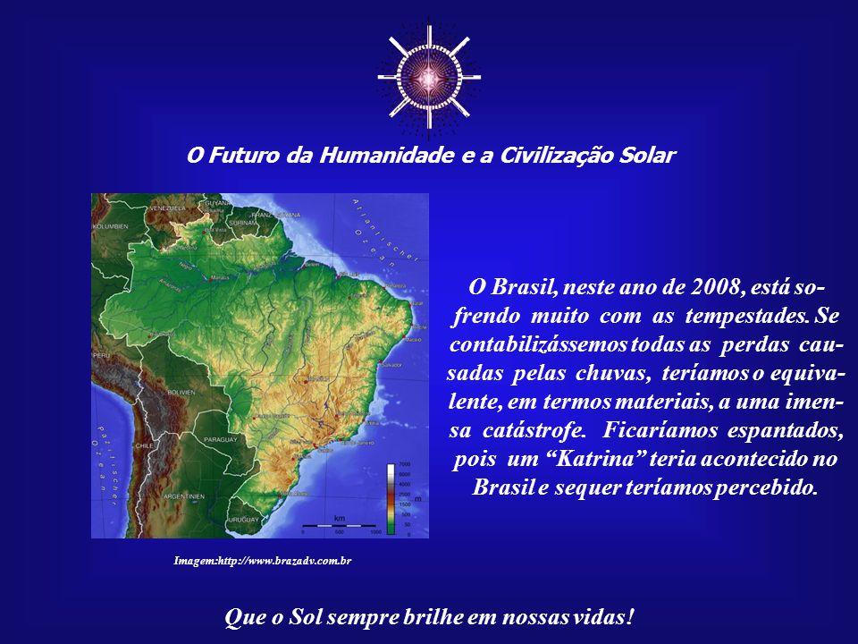 ☼ O Futuro da Humanidade e a Civilização Solar Que o Sol sempre brilhe em nossas vidas! A grande pergunta: onde, co- mo civilização, estamos falhando
