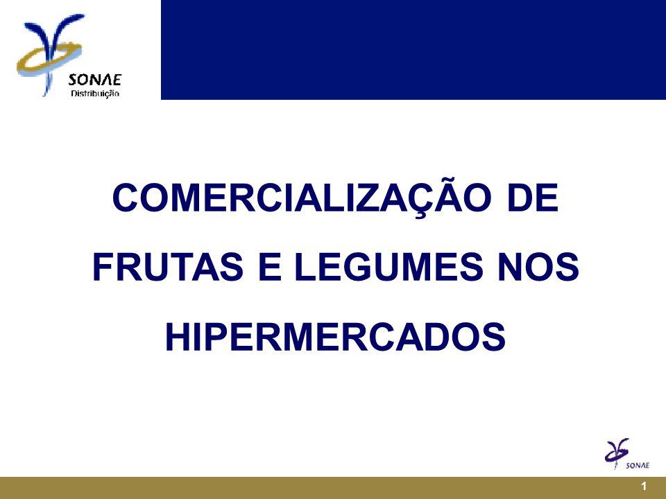 1 COMERCIALIZAÇÃO DE FRUTAS E LEGUMES NOS HIPERMERCADOS