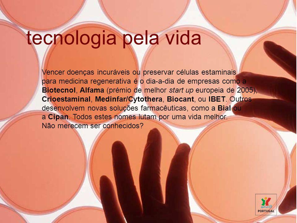Vencer doenças incuráveis ou preservar células estaminais para medicina regenerativa é o dia-a-dia de empresas como a Biotecnol, Alfama (prémio de mel