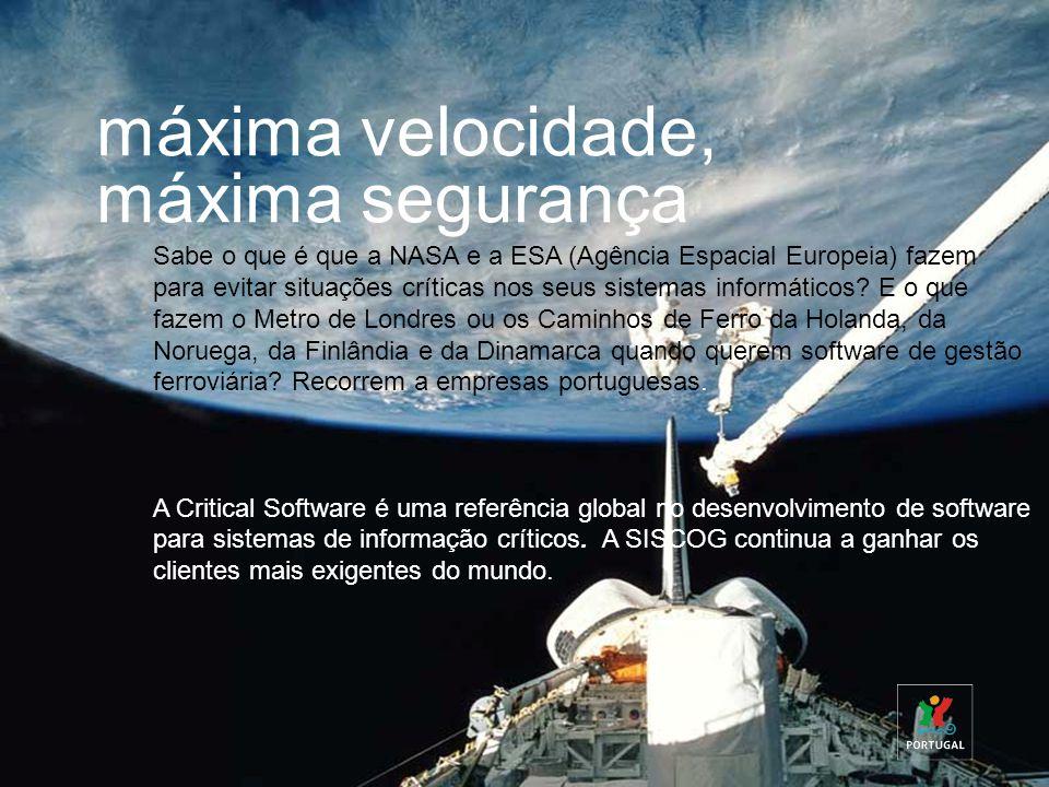 Sabe o que é que a NASA e a ESA (Agência Espacial Europeia) fazem para evitar situações críticas nos seus sistemas informáticos? E o que fazem o Metro