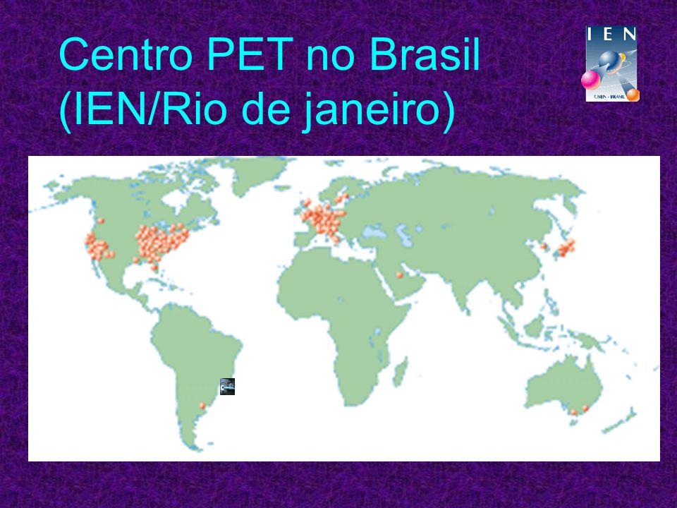 Centro PET no Brasil (IEN/Rio de janeiro)