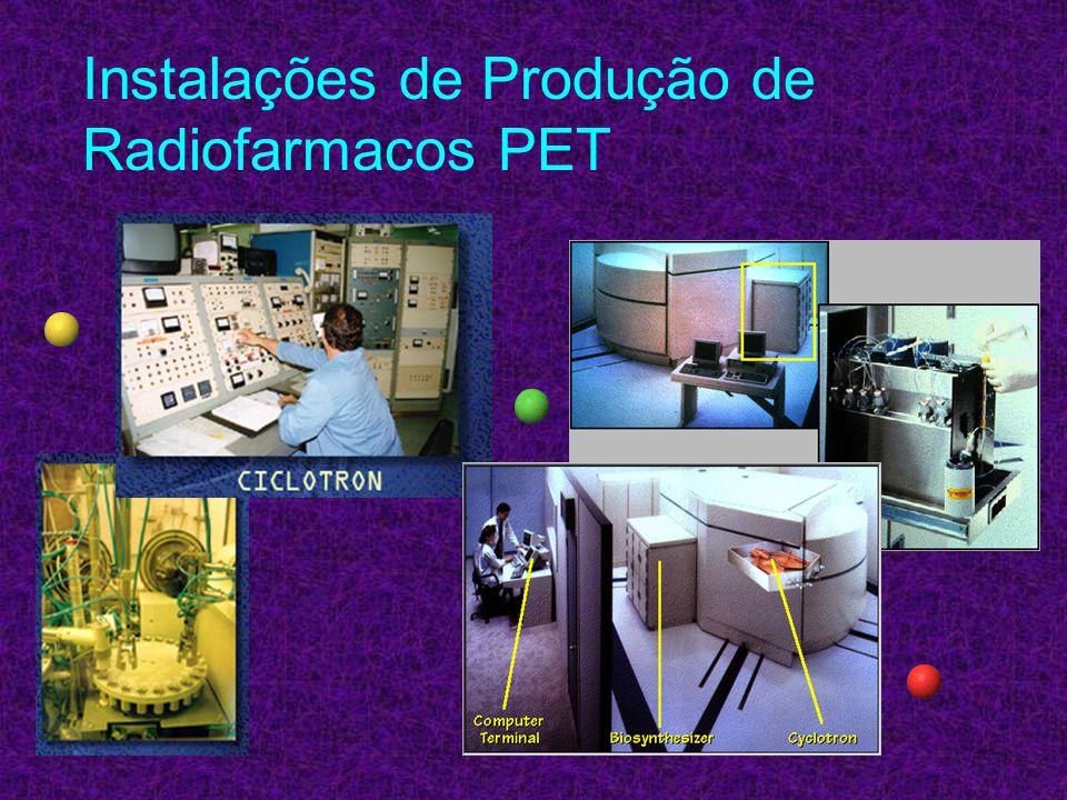 Instalações de Produção de Radiofarmacos PET