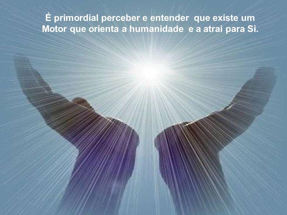É primordial perceber e entender que existe uma evolução dirigida, consciente de si mesma. É primordial perceber e entender que existe uma evolução di