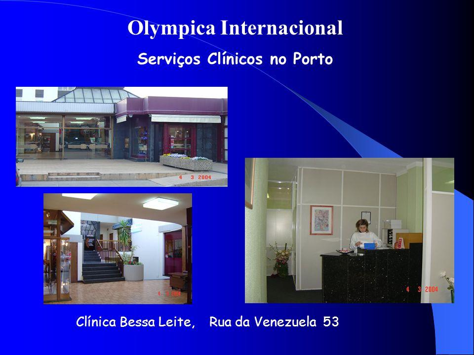Olympica Internacional Serviços Clínicos no Porto Clínica Bessa Leite, Rua da Venezuela 53