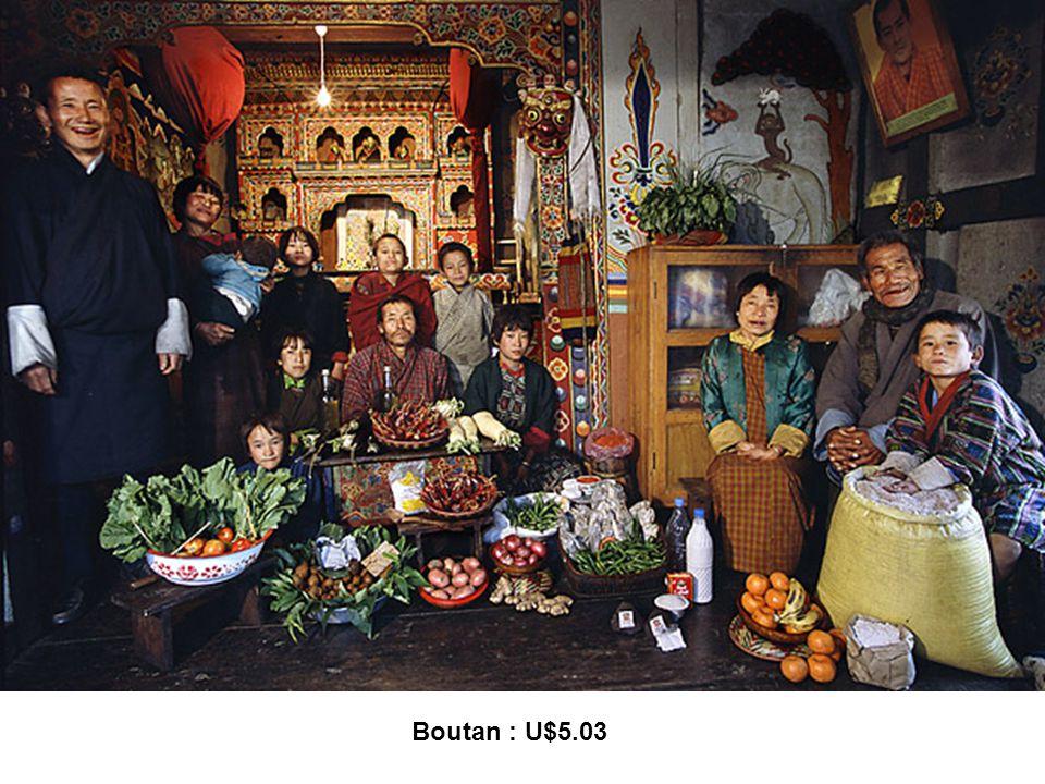 Boutan : U$5.03