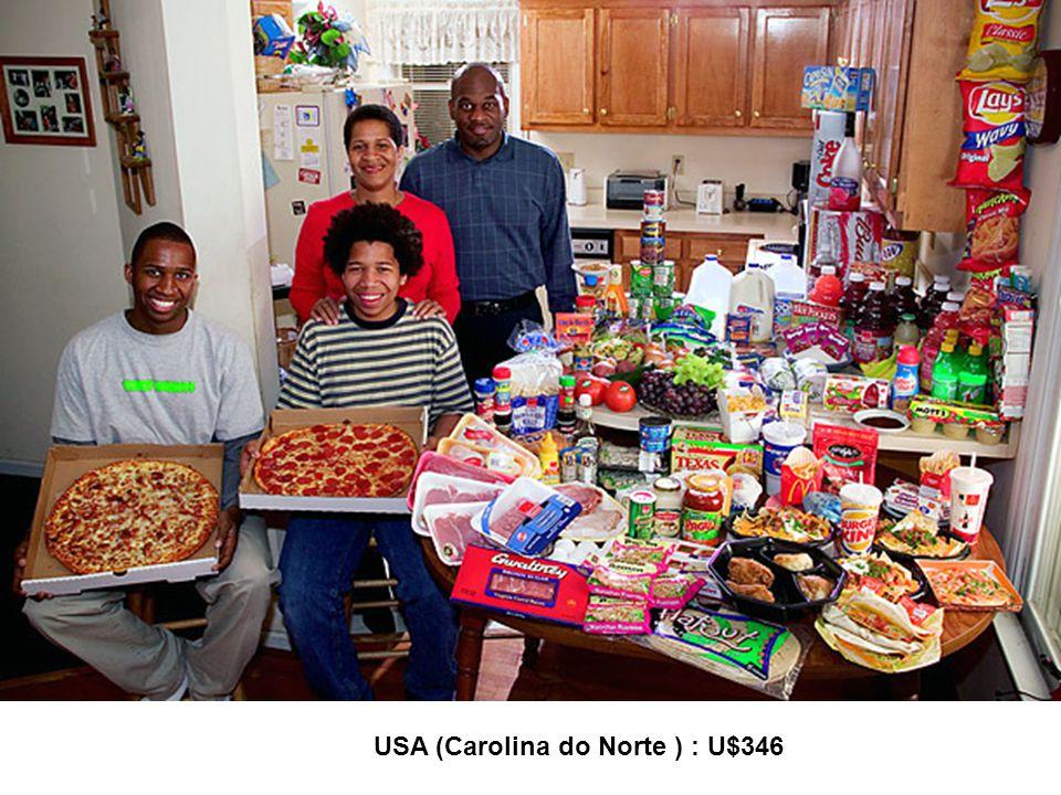 USA (Carolina do Norte ) : U$346