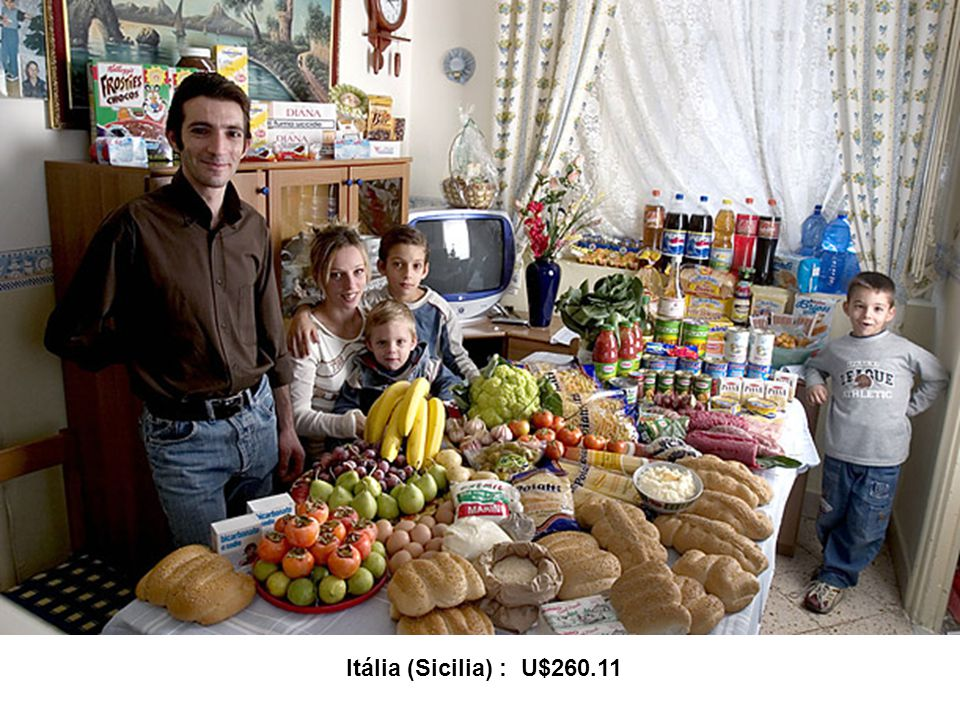 Itália (Sicilia) : U$260.11