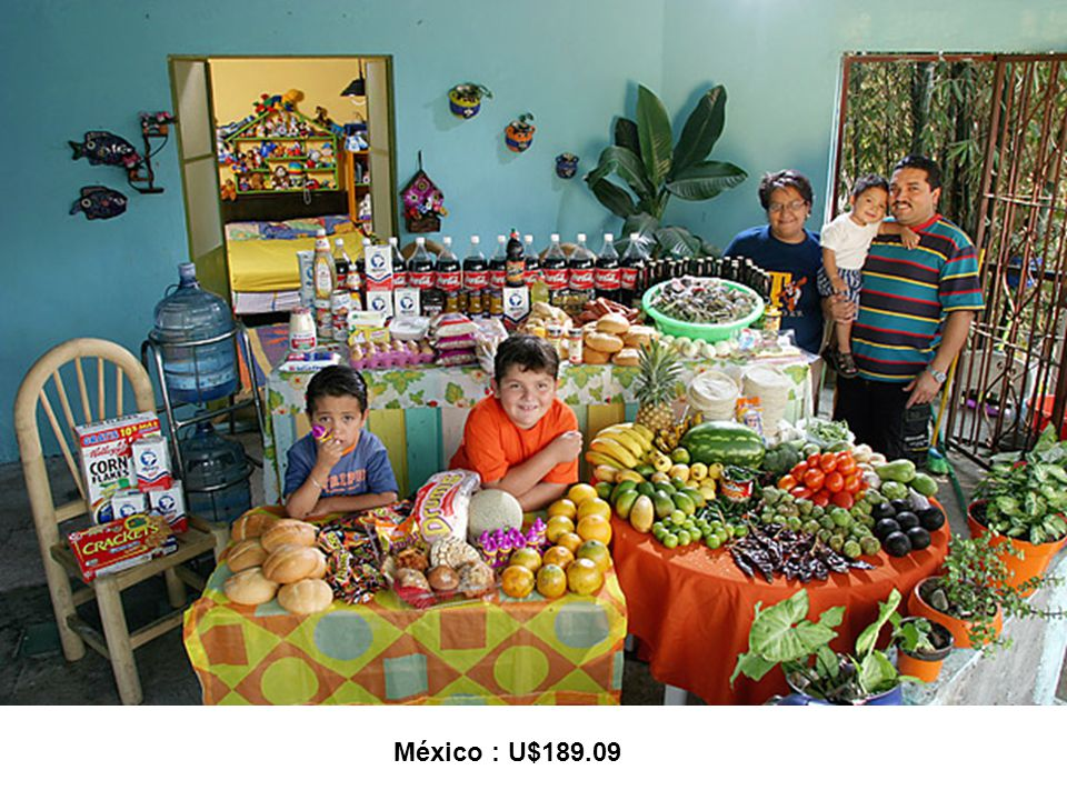 México : U$189.09