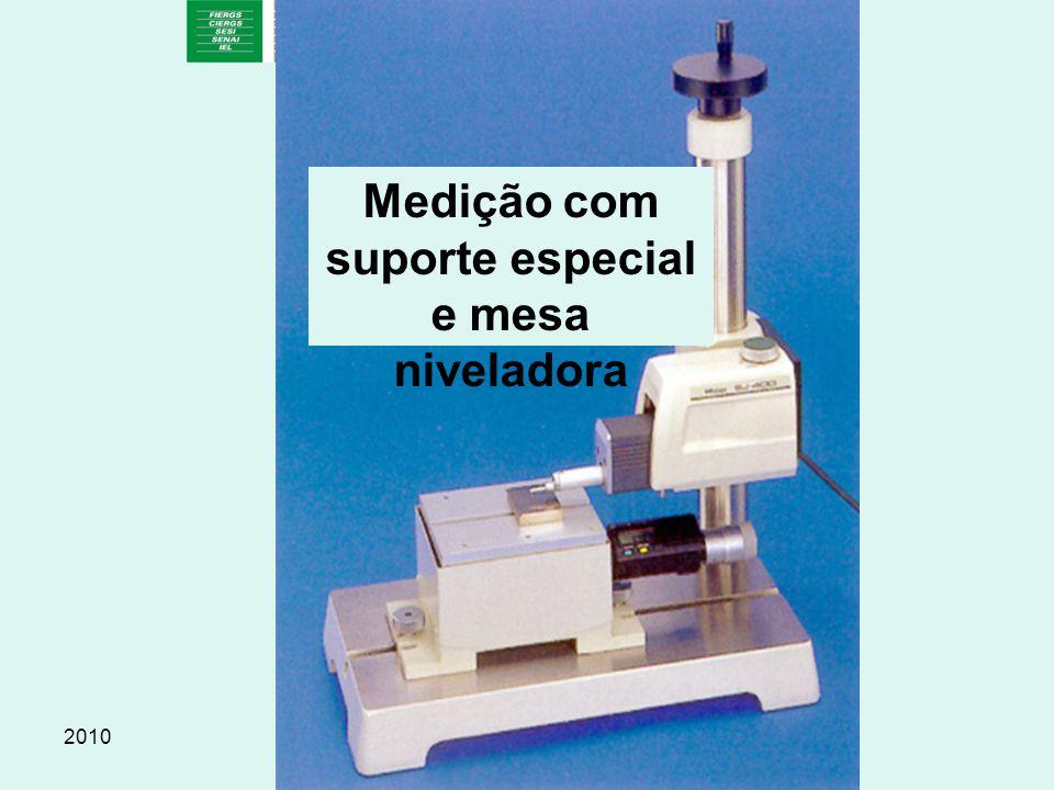 2010Prof. Escopel Medição com suporte especial e mesa niveladora