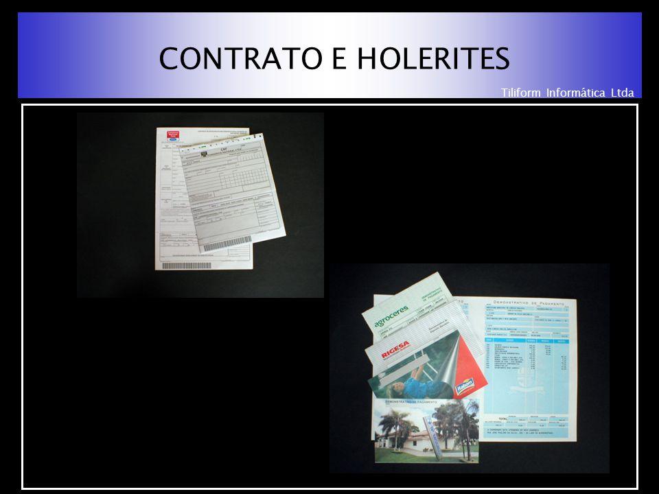 Tiliform Informática Ltda CONTRATO E HOLERITES