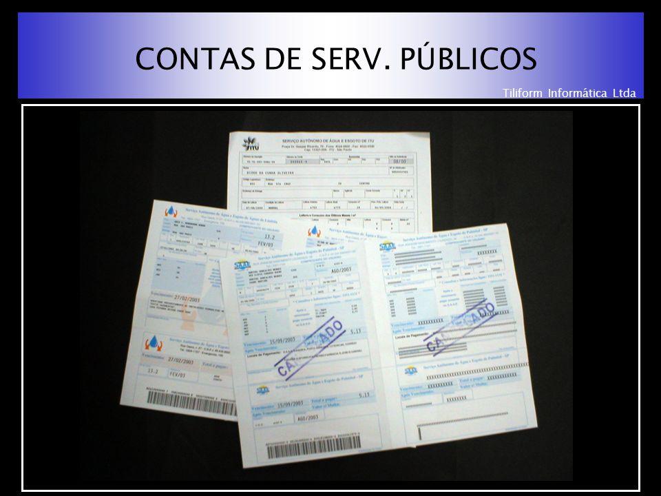 Tiliform Informática Ltda CONTAS DE SERV. PÚBLICOS
