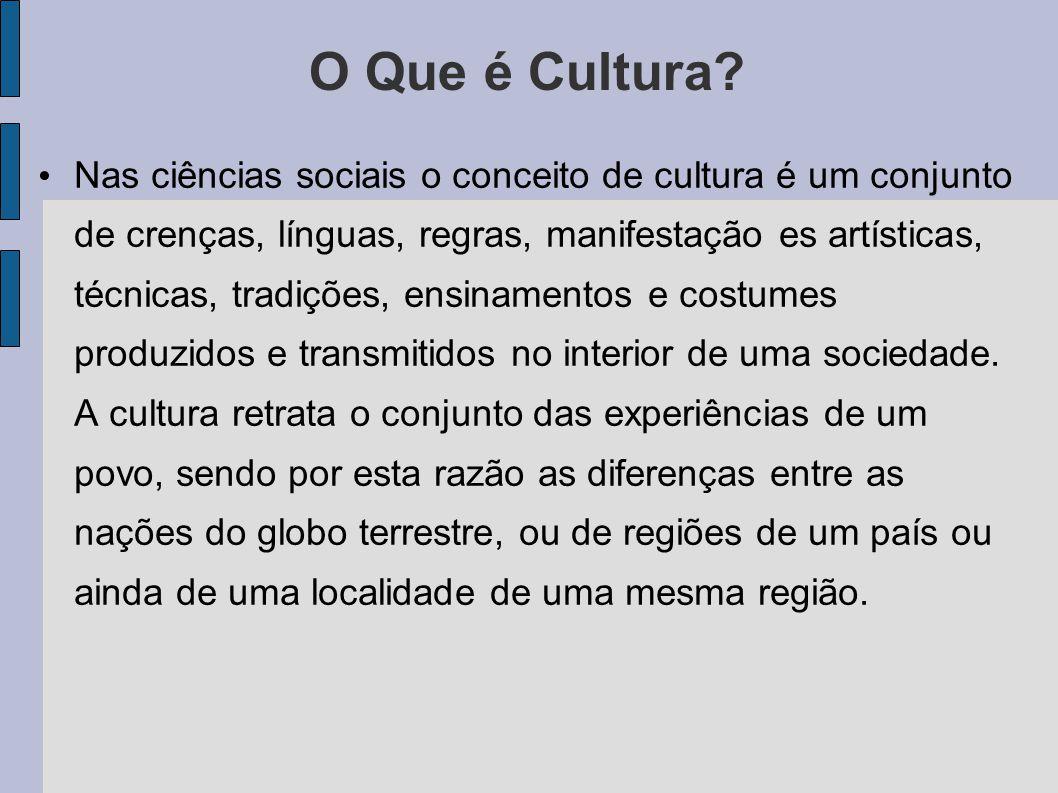 Identidade Cultural É o sentimento de identidade de uma pessoa com seu grupo ou sua cultura.