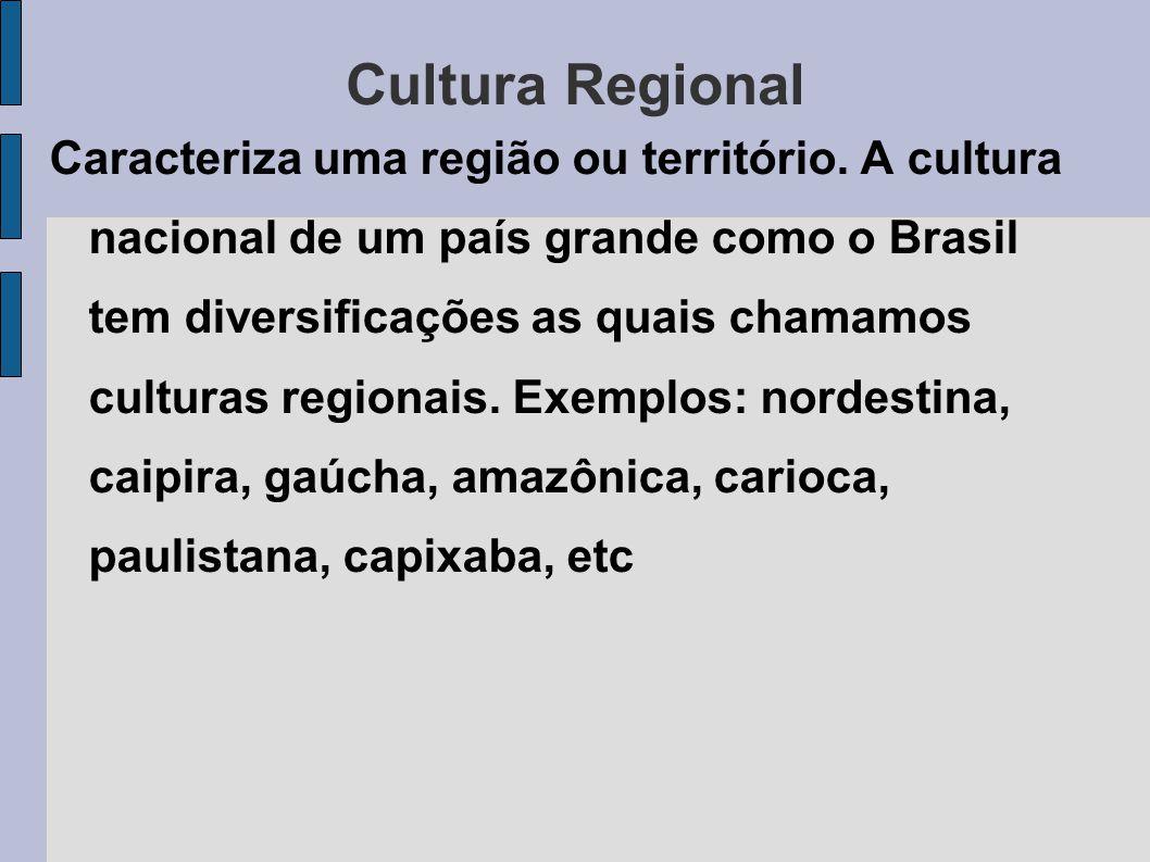 Cultura Nacional Cultura nacional é o conjunto de características culturais que identifica uma nação.