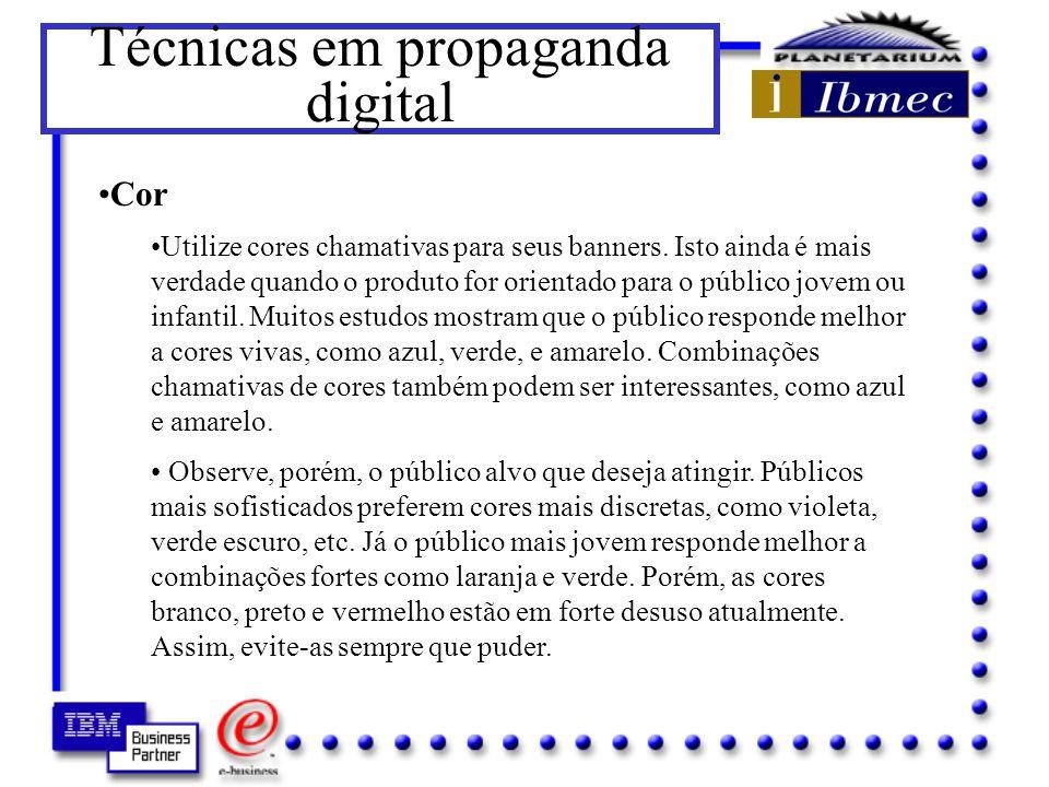 Técnicas em propaganda digital Por outro lado, o uso de perguntas tipo Cansou de usar seu shampoo? aumentam a responsividade.