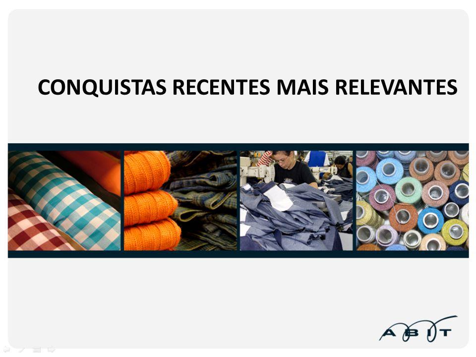 CONQUISTAS RECENTES MAIS RELEVANTES