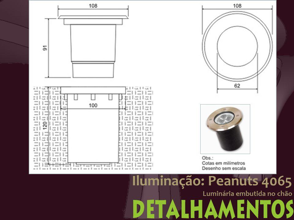 Iluminação: Peanuts 4065 Luminária embutida no chão