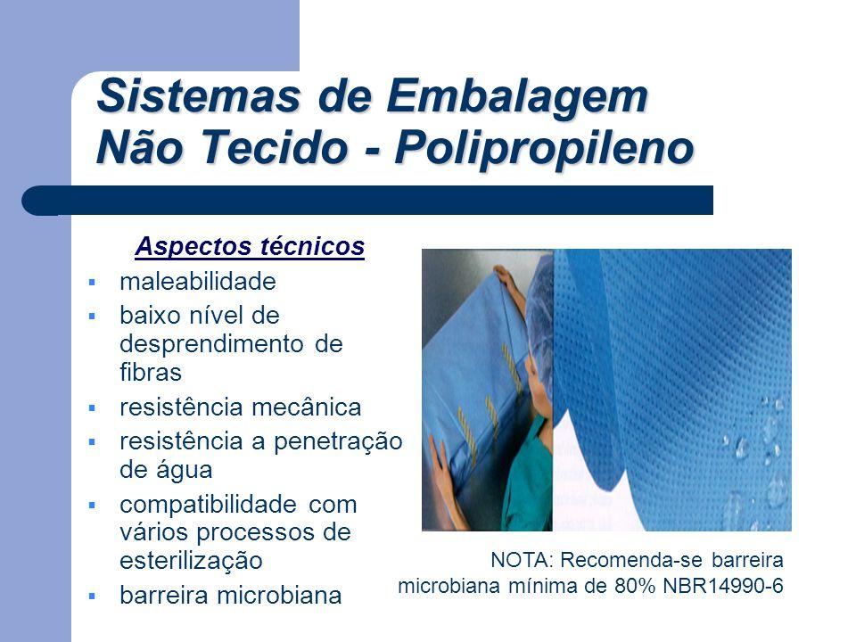 Aspectos técnicos  maleabilidade  baixo nível de desprendimento de fibras  resistência mecânica  resistência a penetração de água  compatibilidad