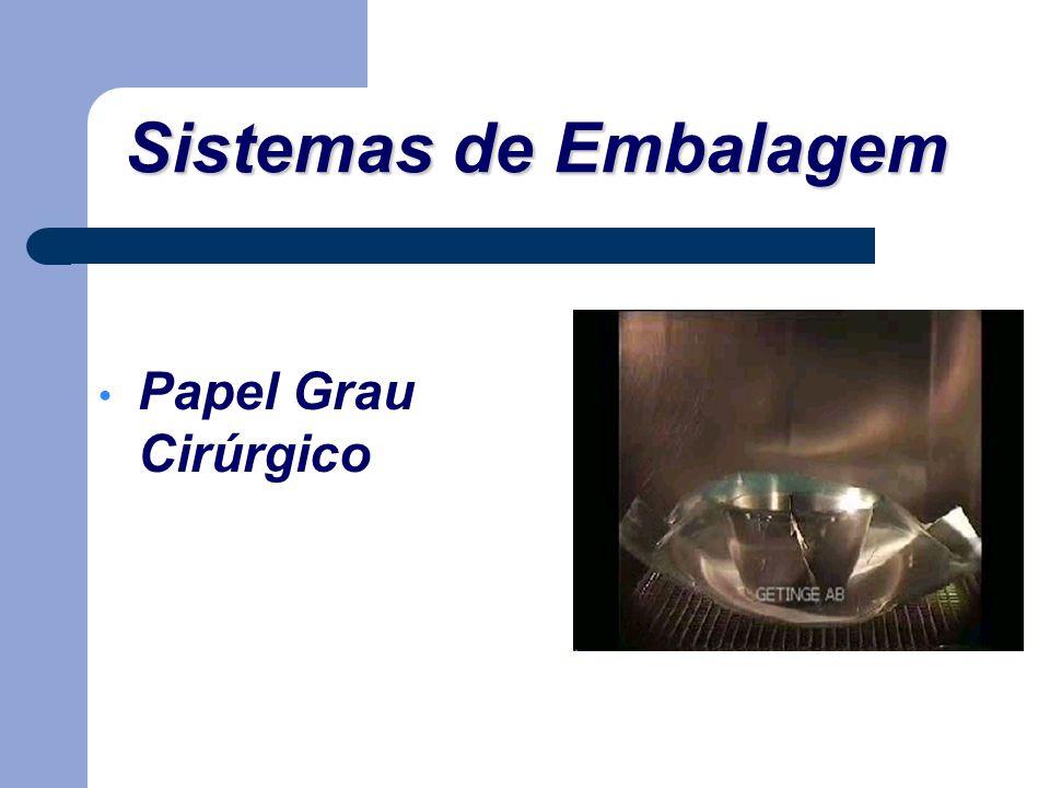 Papel Grau Cirúrgico Sistemas de Embalagem