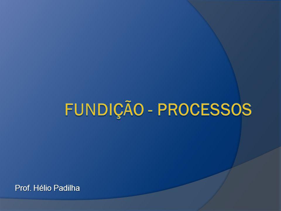 Principais processos  Fundição por gravidade  Fundição sob pressão  Fundição por centrifugação  Fundição de precisão