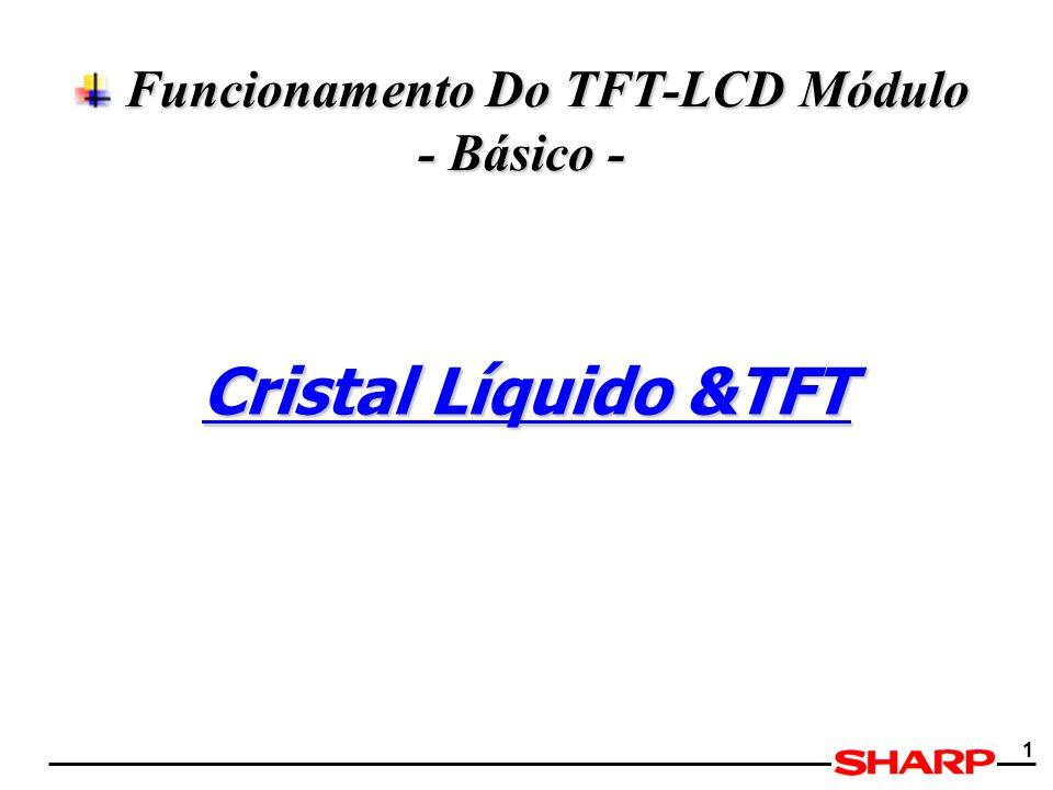 1 Funcionamento Do TFT-LCD Módulo - Básico - Funcionamento Do TFT-LCD Módulo - Básico - Cristal Líquido &TFT