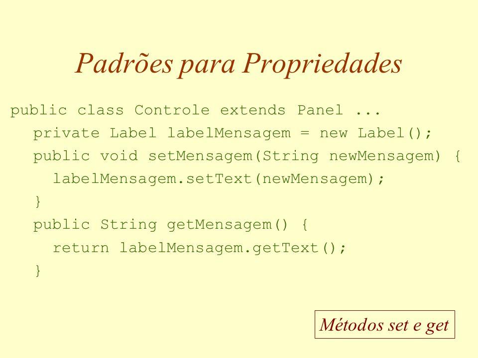 Exemplo: Painel de Controle InserirLimparConsultar Mensagem do Painel...