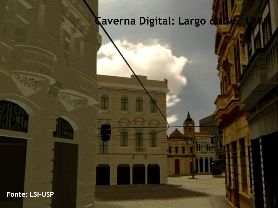 Fonte: LSI-USP Caverna Digital: Largo da Sé, 1911