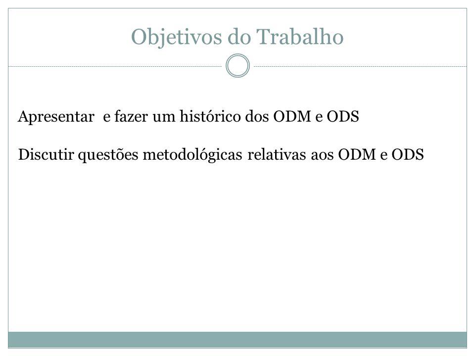 Questões Metodológicas Análise do Objetivo 1 As metas dão conta do objetivo.