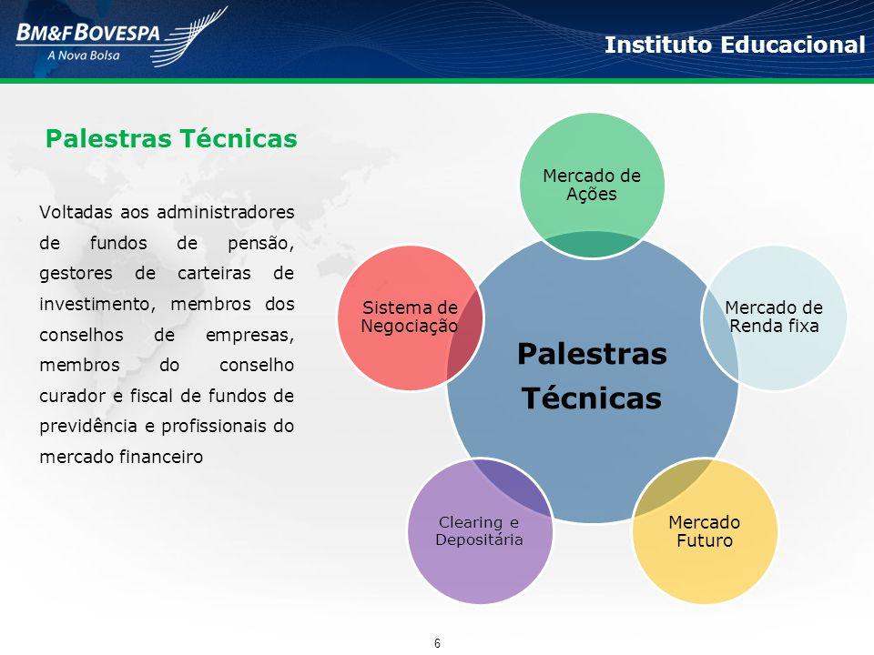 Instituto Educacional Voltadas aos administradores de fundos de pensão, gestores de carteiras de investimento, membros dos conselhos de empresas, memb