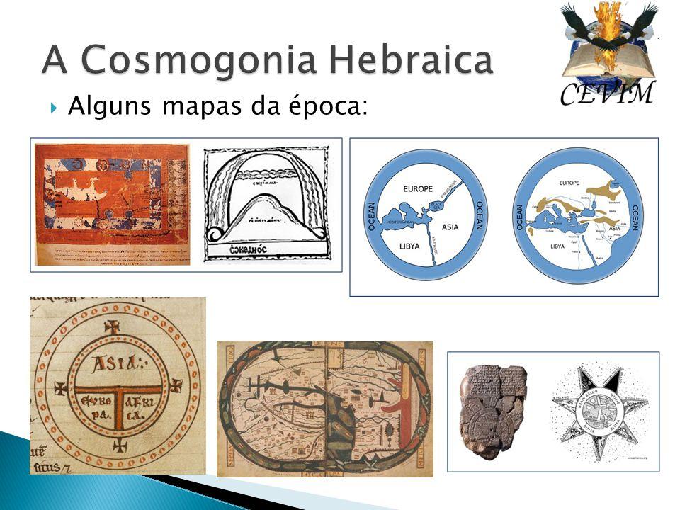  Alguns mapas da época: