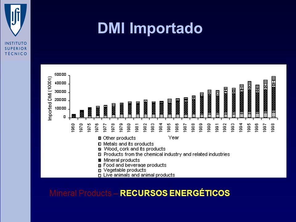 DMI Importado Mineral Products – RECURSOS ENERGÉTICOS