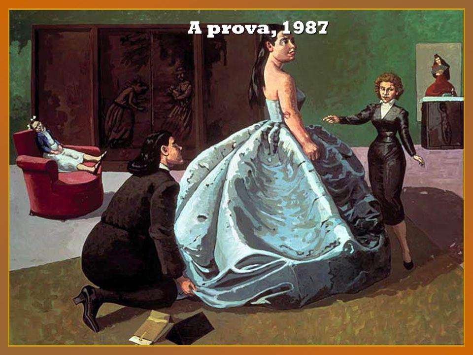 Em 1987, Paula Rego assina com a galeria Marlborough Fine Art, o passo que faltava para a divulgação internacional.