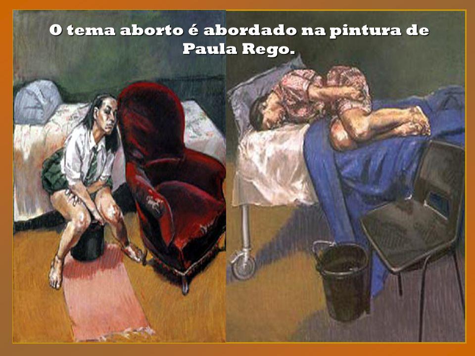 O universo das mulheres passa a constituir o principal tema da pintura de Paula Rego. Ela é, efetivamente, uma pintora de mulheres. Ela é, efetivament