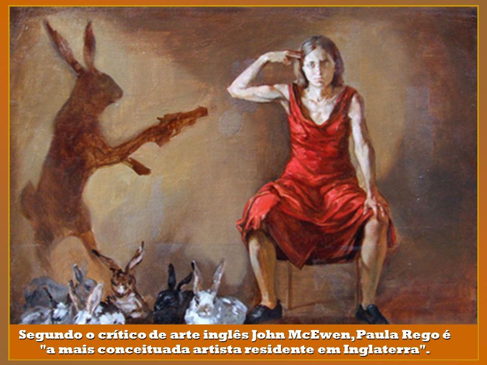A par de Maria Helena Vieira da Silva, Paula Rego é a pintora portuguesa mais aclamada a nível internacional, estando colocada entre os quatro maiores