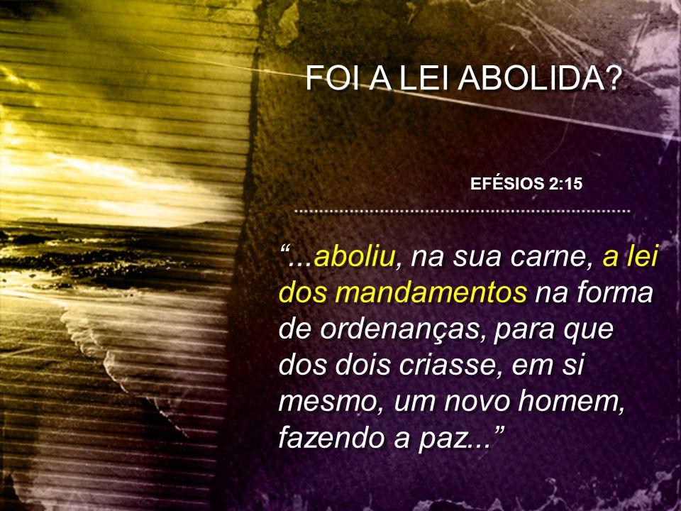 Tiago 2:10, 1João 2:4 Porque qualquer que guardar toda a lei, e tropeçar em um só ponto, tornou-se culpado de todos. MAS...