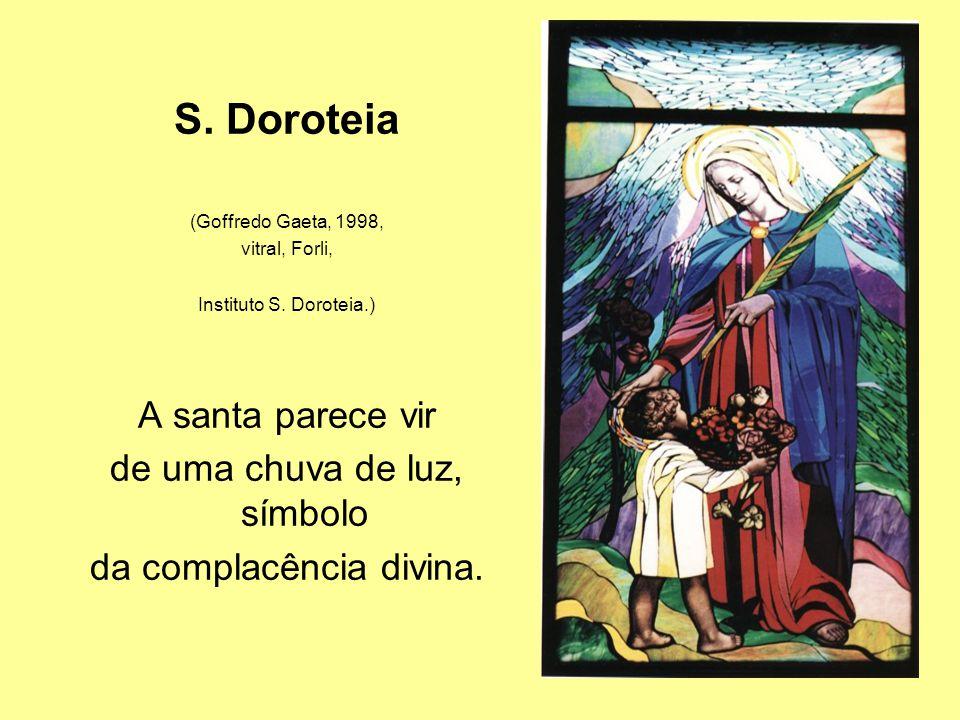 S.Doroteia (Goffredo Gaeta, 1998, vitral, Forli, Instituto S.