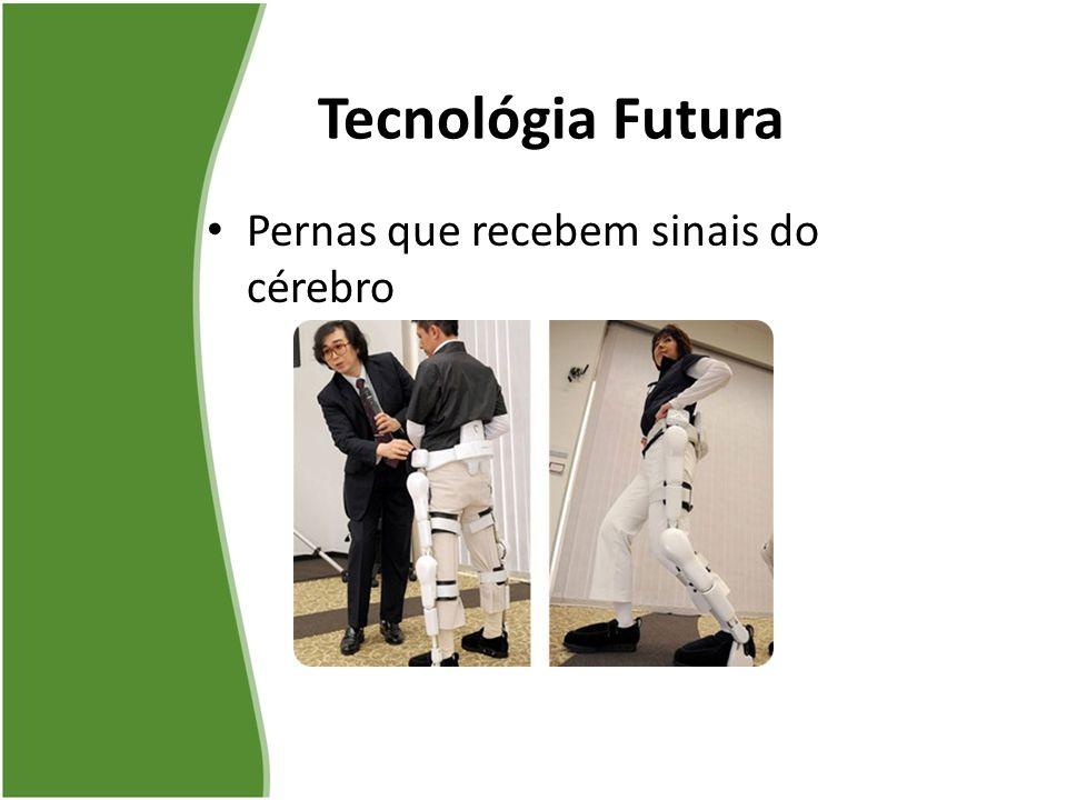 Pernas que recebem sinais do cérebro Tecnológia Futura