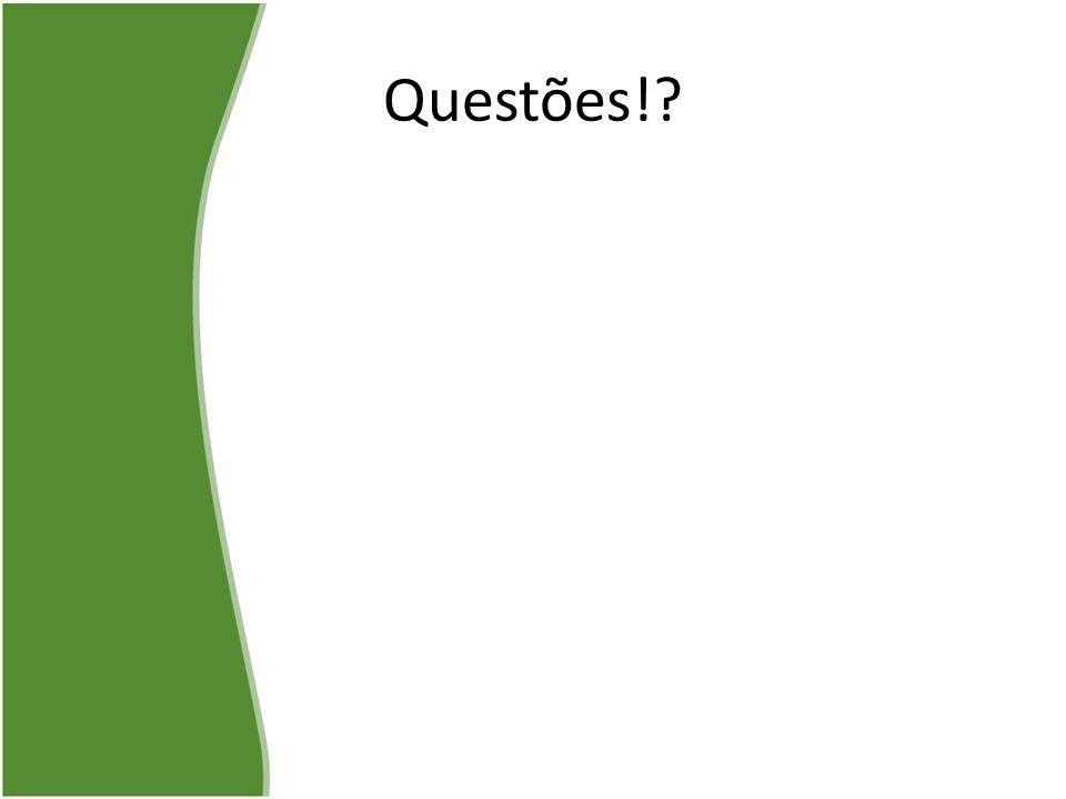 Questões!?