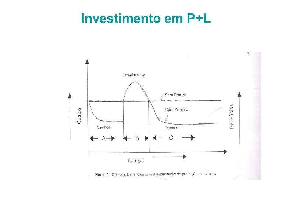 Investimento em P+L
