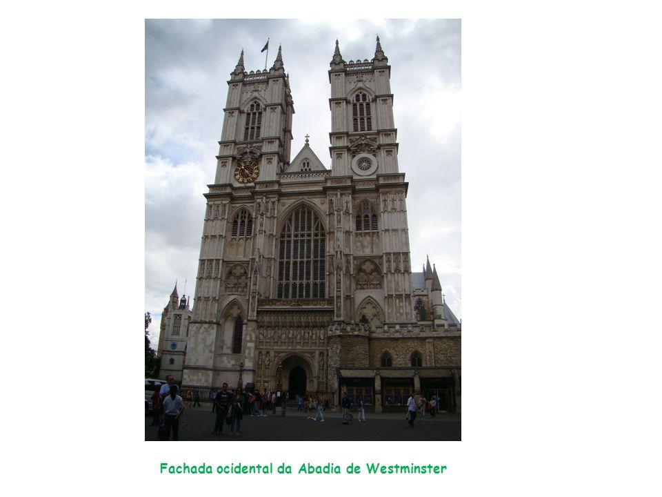 Fachada ocidental da Abadia de Westminster