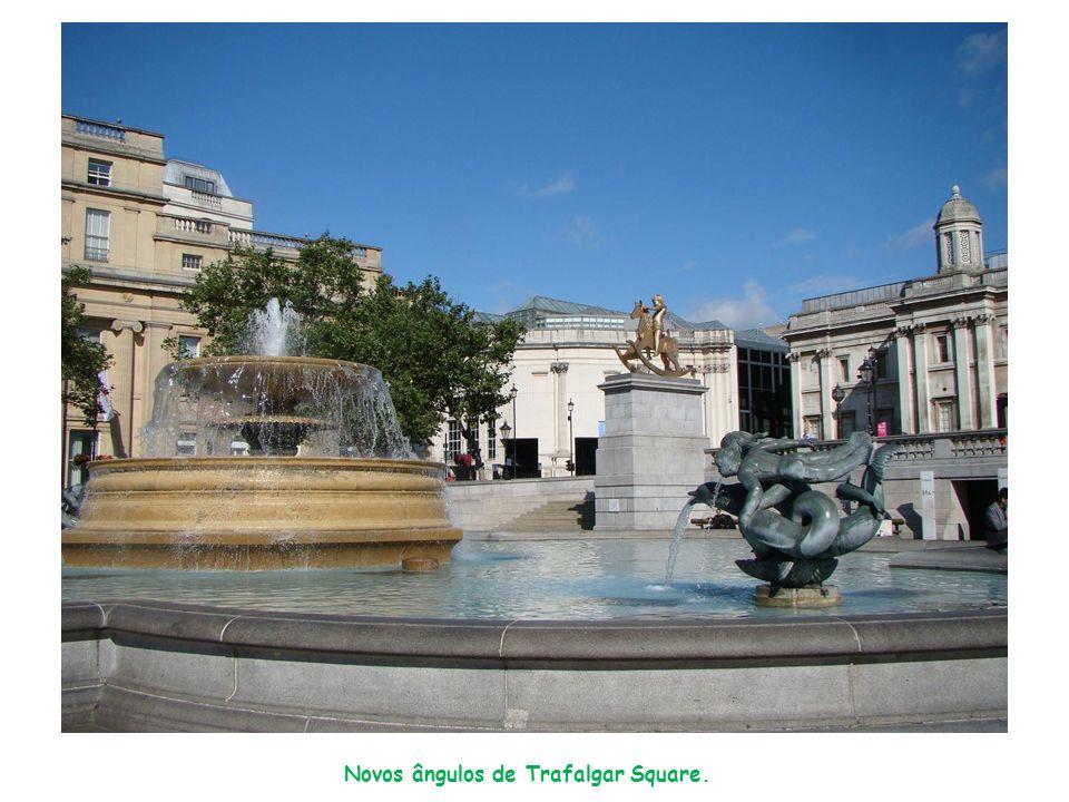 Novos ângulos de Trafalgar Square.