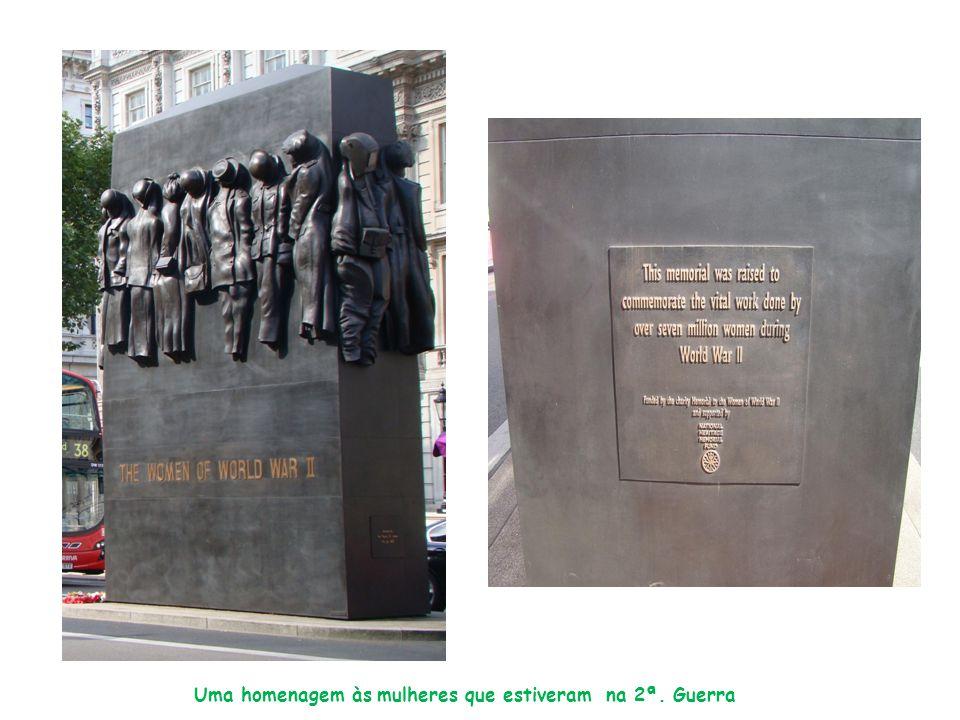Uma homenagem às mulheres que estiveram na 2ª. Guerra